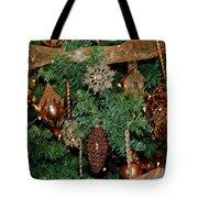 A Bronze Christmas Tote Bag