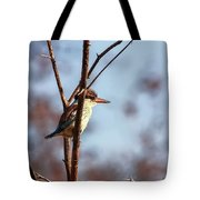 A Brown-hooded Kingfisher  Tote Bag