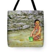 A Bucket Full Of Ocean Tote Bag