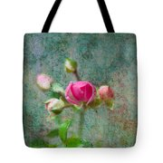 A Bud - A Rose Tote Bag