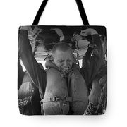 A Buds Student Expresses Pain Tote Bag by Michael Wood