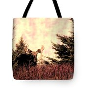 A Bull Moose Dream Tote Bag