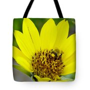 A Bumble Hunkering Down Tote Bag