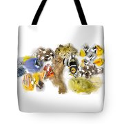 A Bunch Of Colorful Fish No 05 Tote Bag