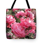 A Bunch Of Pink Tote Bag