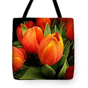 A Bunch Of Tulips Tote Bag