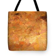 A Burst Of Sunshine In Winter Tote Bag