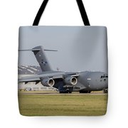 A C-17 Globemaster Strategic Transport Tote Bag