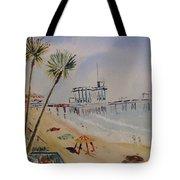 A California Pier Tote Bag