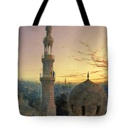 A Call To Prayer Tote Bag