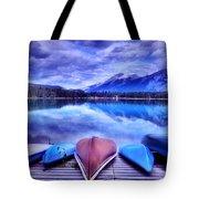 A Calm Afternoon At Lake Edith Tote Bag