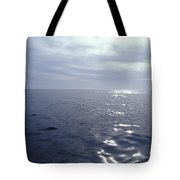 A Calm Ocean With Small Ripples Tote Bag