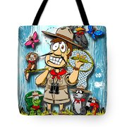 A Camping We Will Go Tote Bag