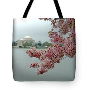 A Capital Cherry Blossom II Tote Bag
