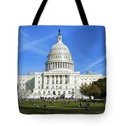A Capitol View Tote Bag by Mark Miller