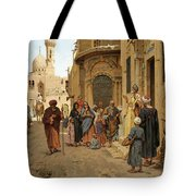 A Captive Audience. Cairo Tote Bag