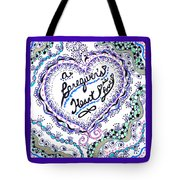 A Caring Heart Tote Bag