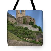 A Castle Among The Vineyards Tote Bag