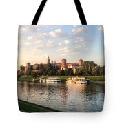 A Castle On The River Tote Bag