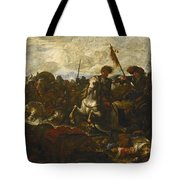 A Cavalry Engagement Tote Bag