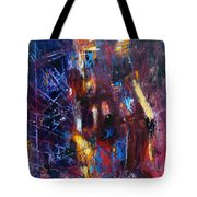A Chance Meeting In The City Tote Bag