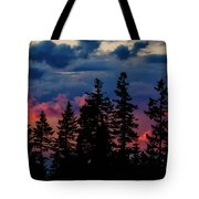 A Chance Of Thundershowers Tote Bag
