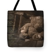 A Child Once Loved Me Poem Tote Bag
