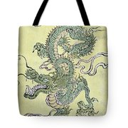 A Chinese Dragon Tote Bag