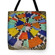 A Chip Off The Ole Mosaic Tote Bag