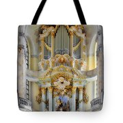 A Church Filled With Music - Church Of Our Lady Dresden Tote Bag
