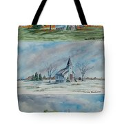 A Church For All Seasons Tote Bag