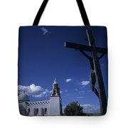 A Church In Colorado Displaying Tote Bag