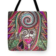 A Circle Of Thoughts Tote Bag