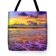 A City In The Clouds Tote Bag