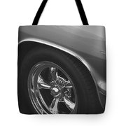 A Classic In Classic Black And White Tote Bag