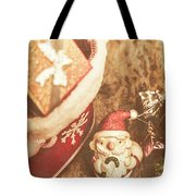 A Clause For A Merry Christmas  Tote Bag
