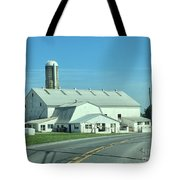 A Clear Amish Day Tote Bag