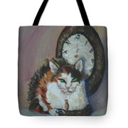 A Clockwork Cat Tote Bag