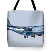A Cn-235 Transport Aircraft Tote Bag