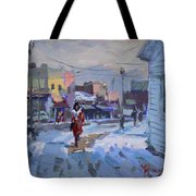 A Cold Afternoon In Tonawanda Tote Bag