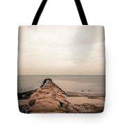 A Cold Compo Beach  Tote Bag