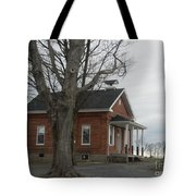 A Cold Day At School Tote Bag