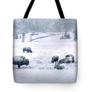 A Cold Winter's Day Tote Bag