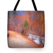 A Colourful Winter Tote Bag
