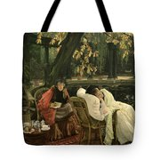 A Convalescent Tote Bag by James Jacques Joseph Tissot