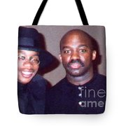 A Cool Dude And His Dad Tote Bag