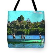 A Cormorant Cruise 2 Tote Bag
