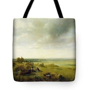 A Corn Field Tote Bag by Peter de Wint
