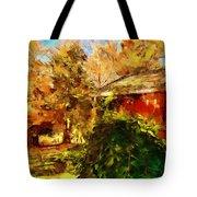 A Corner Of Autumn  Tote Bag