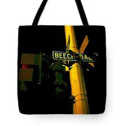 A Corner Of Beech Daly Tote Bag by Guy Ricketts